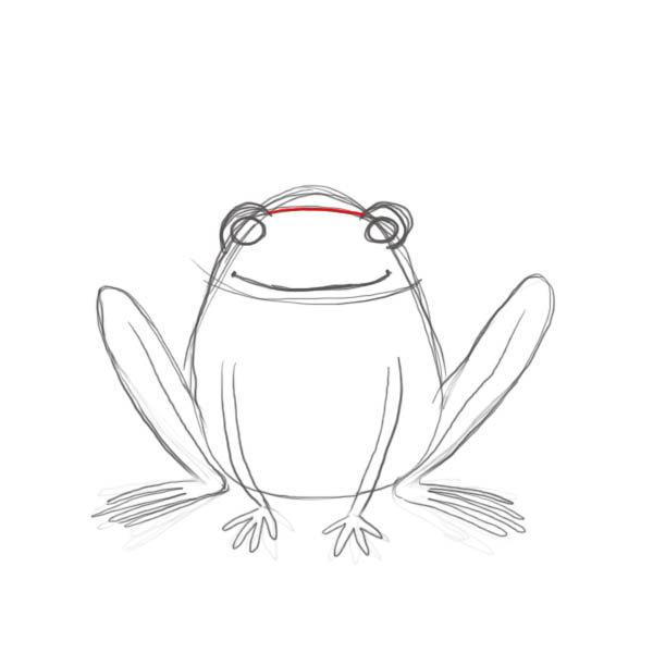 how to draw a cartoon frog drawing factory