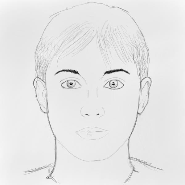 How to draw faces drawing factory ad more details like the iris and a few lines at the bottom of the nose and on the lips overall drawing has been consolidated in this last step ccuart Image collections