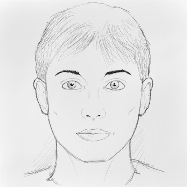 How to draw faces drawing factory how to draw faces the finished result ccuart Choice Image